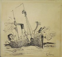 Image of [Animals on a ship] - Elgren, R.
